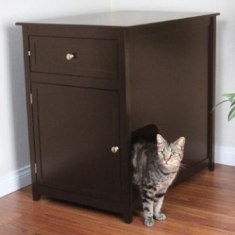 Petco Premium - cat litter box cabinet