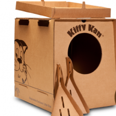 Kitty Kan disposable litter box