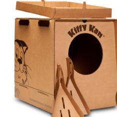Kitty Kan disposable litter box