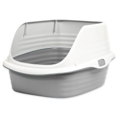 Petmate Litter Pan with rim Rim