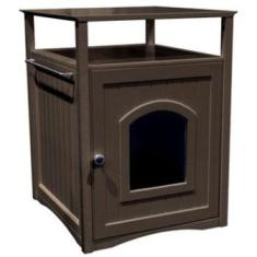 Merry Products - cat litter box cabinet