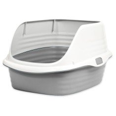 Petmate Litter Pan with rim Rim